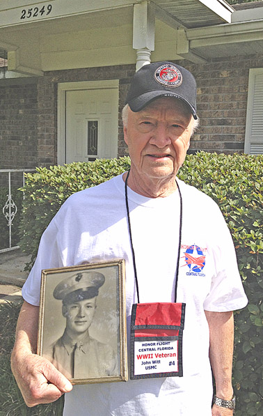 W - Honor flight - Newberry John Witt - photo copy